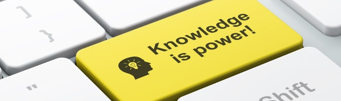 knowledge is power online education page banner